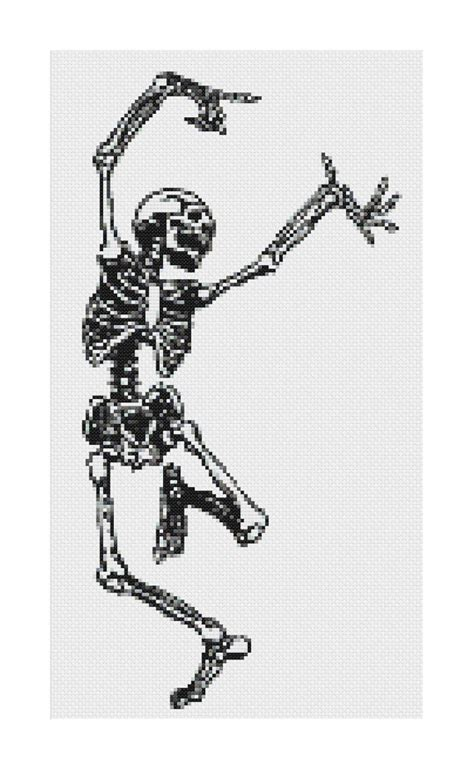 skeleton pattern in casting pdf dancing skeleton cross stitch pattern old anatomy