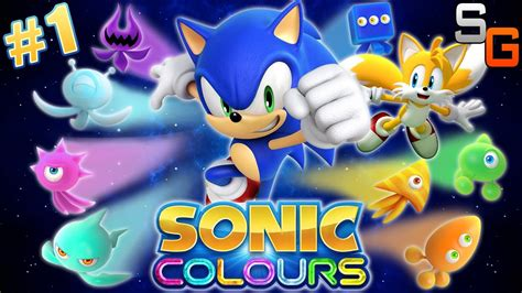 sonic color sonic colours part 1 wii u wii playthrough