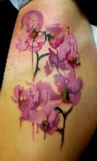 watercolor orchid tattoo watercolor orchid tattoo ideas yo tattoo