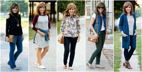 fashion styles for women over forty 26 days of fall fashion for women over 40 grace beauty