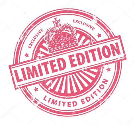 Special Edition limited edition exclusive st stock vector 169 fla 11740705