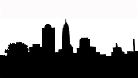 houston skyline outline clipart best
