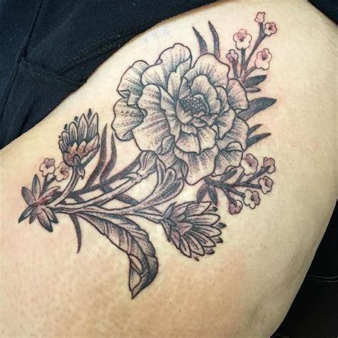 marigold tattoo the 25 best marigold ideas on