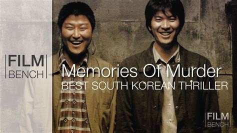 the murder of a the memories of a ten year books memories of murder best korean thriller bench