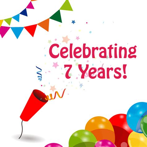 7 years in years celebrating our 7 year anniversary today briggeman material handling solutions