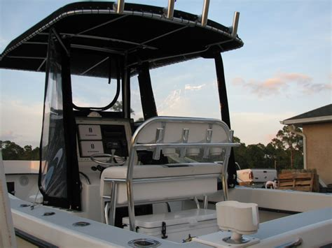 fishing boat enclosures show me your center console enclosure the hull truth