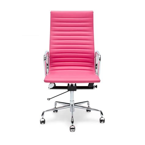 pink ribbed style office chair cult uk