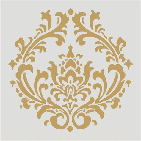 fabric pattern stencils ideas damask 4 3 stencil design 6 sizes damask pillows french