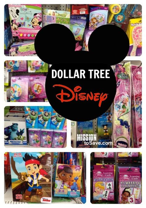 dollar tree disney supplies mission to save
