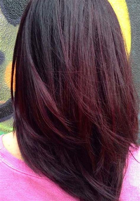 cherry burgundy hair eggplant and blonde highlights www pixshark com images