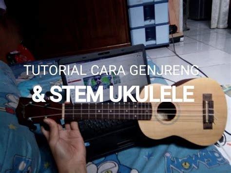 tutorial gitar keroncong cara memainkan ukulele senar 3 cuk keroncong doovi