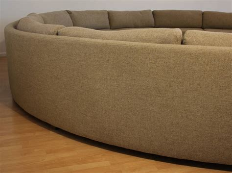 large curved sofa milo baughman large sectional curved sofa at 1stdibs