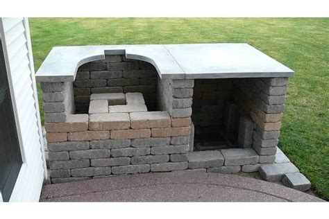 Hearth And Patio Big Green Egg Big Green Eggs Tables Specifications Made A Concrete
