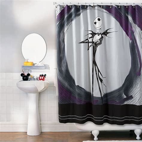 jack skellington bathroom set creep up your home with these 20 horror inspired shower