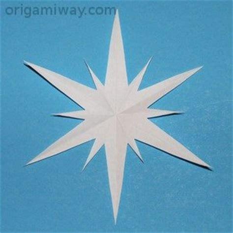 Origami Snowflake Pattern - free paper snowflake patterns 2