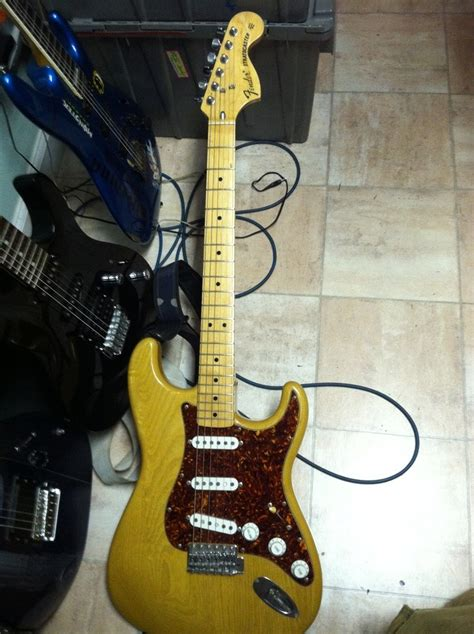how can i find the value of my woodgrain japanese fender