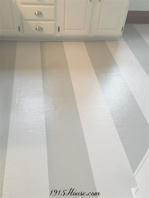 Painted Vinyl Linoleum Floor Makeover Ideas   Fox Hollow