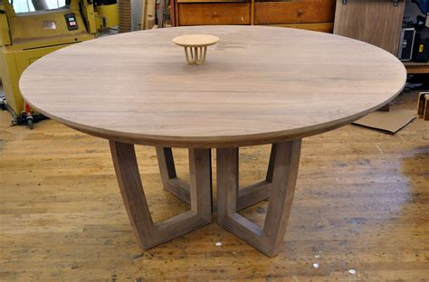 round dining room table with leaf dorset custom furniture a woodworkers photo journal a