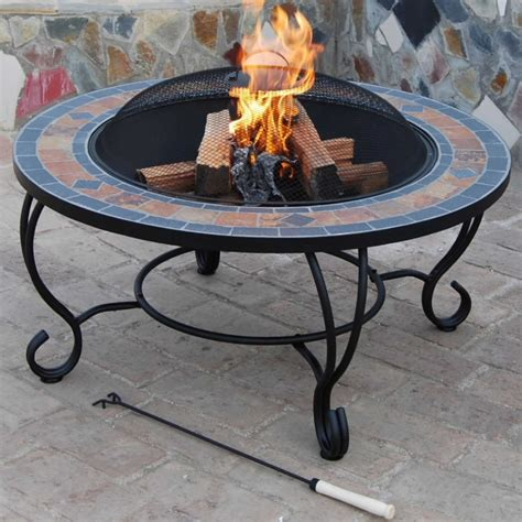 world most beautiful bbq table villa beacon natural slate coffee table fire pit access