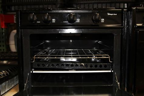 chef ovens and cooktops rv appliances used magic chef rv appliance oven stove rv
