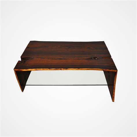 what is a cocobolo single slab walnut dining table base in polished