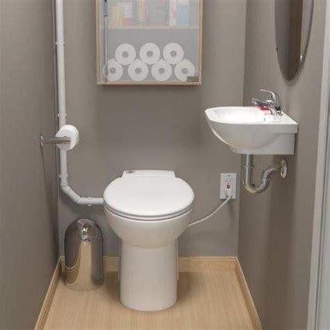 saniflo depot upflush toilets half bathroom sanicompact