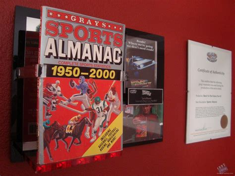 grays sports almanac back to the future 2 books grays sports almanac 1950 2000 prop from back to
