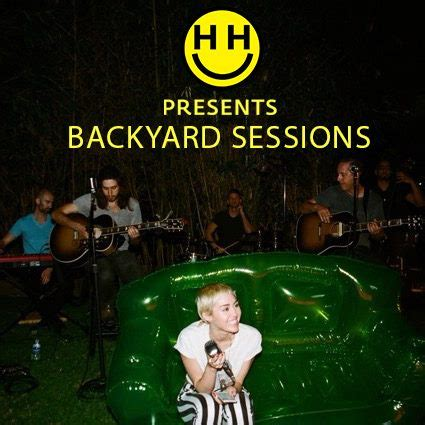 the backyard sessions miley cyrus album backyard sessions miley cyrus wiki fandom powered by wikia