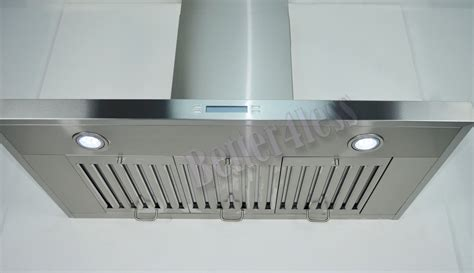 in wall vent fan 36 quot wall mount stainless steel kitchen range vent