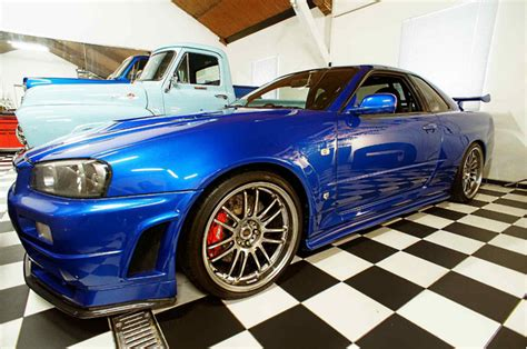 nissan skyline 2002 paul walker paul walker s fast and furious r34 nissan gt r up for sale