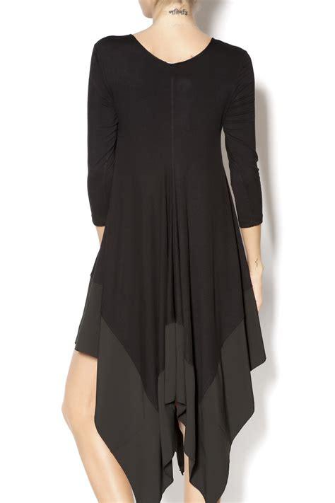 swing top clothing gracia swing top black from houston by armario de la bella