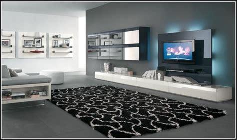 moderne beleuchtung moderne wohnwand mit led beleuchtung design