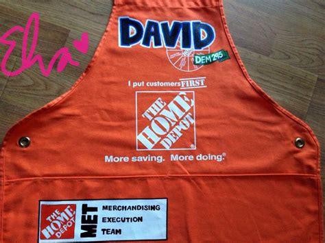 home depot apron apron