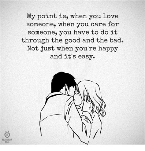 do it to it my point is when you love someone when you care for