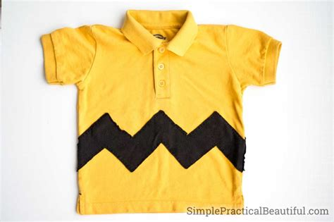 pattern for charlie brown shirt it s the great pumpkin charlie brown simple practical