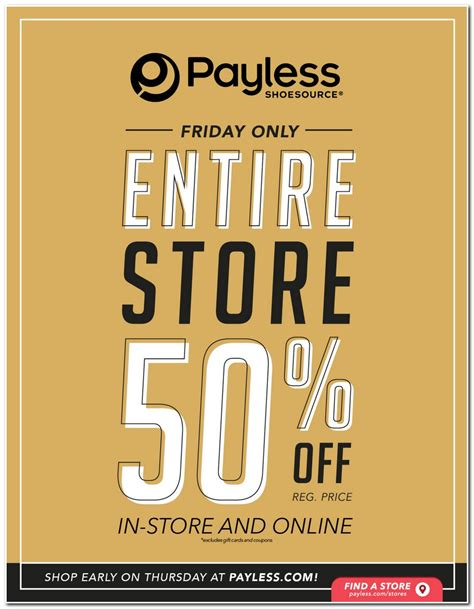 payless shoesource black friday ads sales deals