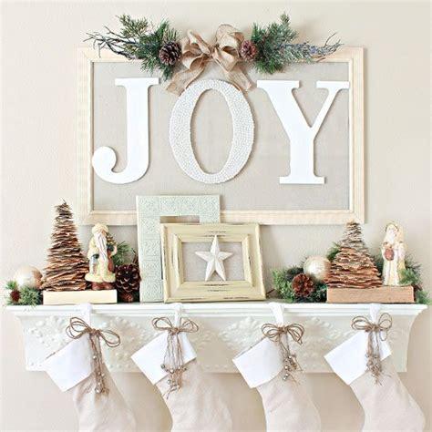 diy christmas mantel decorating ideas holidays