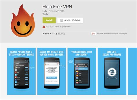 vpn free for android les meilleures applications vpn gratuites pour android geekpratik