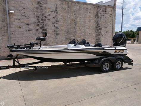 used nitro bass boats in texas fishing bass boats for sale moreboats