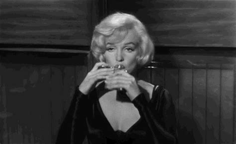 marilyn monroe dob drinking gifs find share on giphy
