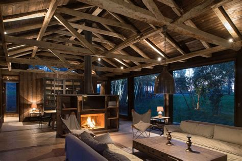 rustic barn house in chile