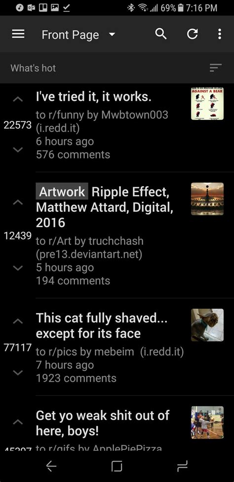 Android Without Reddit by Best Reddit App For Android Android Central