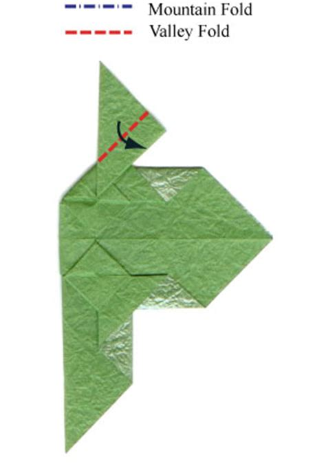 What Is A Valley Fold In Origami - how to make a origami leaf page 24