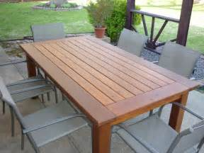 Build Outdoor Dining Table Woodwork Cedar Outdoor Dining Table Plans Pdf Plans