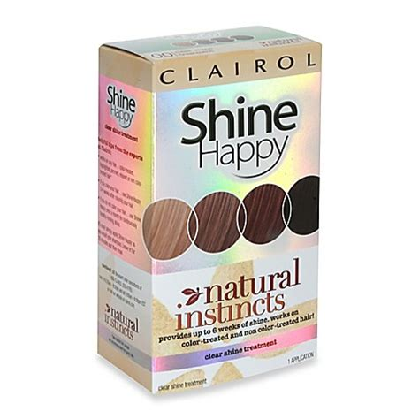 Review Shine Happy From Clairol by Buy Clairol 174 Instincts Shine Happy Clear Shine