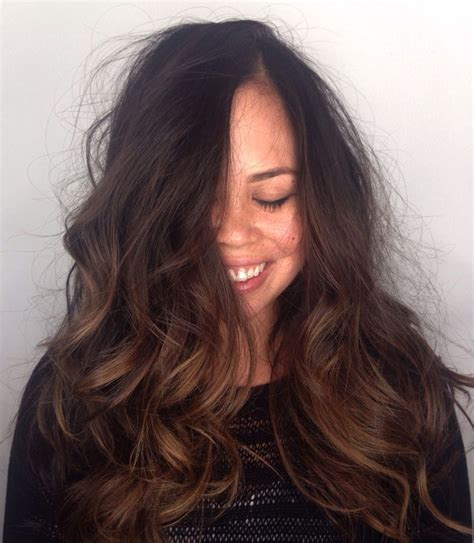 thick naturally curly air salon in san diego 224 best images about balayage hair color on pinterest