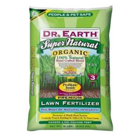 Fertilizer Home Depot by Dr Earth 18 Lb 2000 Sq Ft Lawn