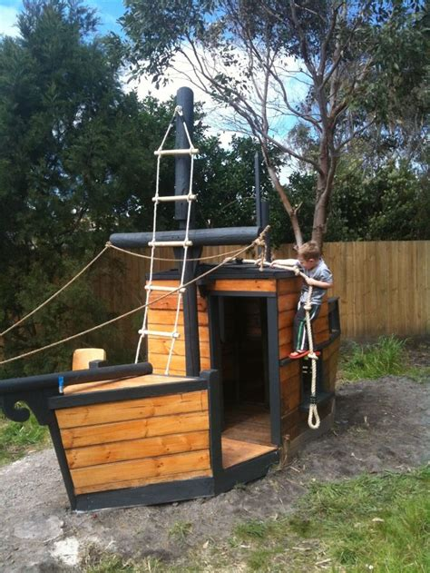 backyard cubby house 172 best pirate ships for backyard play images on