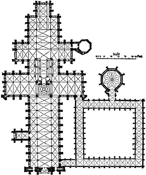 salisbury cathedral floor plan plan of salisbury cathedral 1075 1092 clipart etc