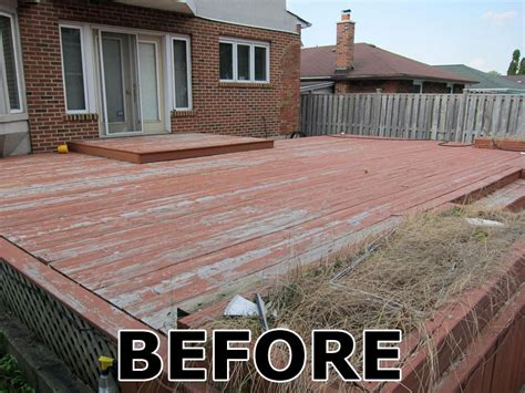 toronto deck staining  fence staining contractor
